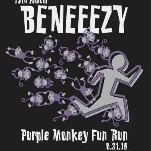 15th Annual Beneezy Purple Monkey Fun Run