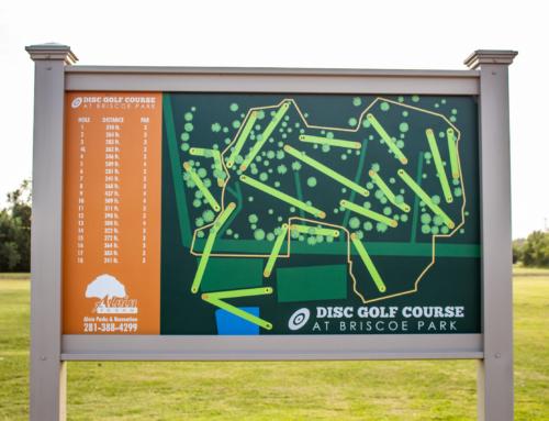 Disc Golf Course at Briscoe Park
