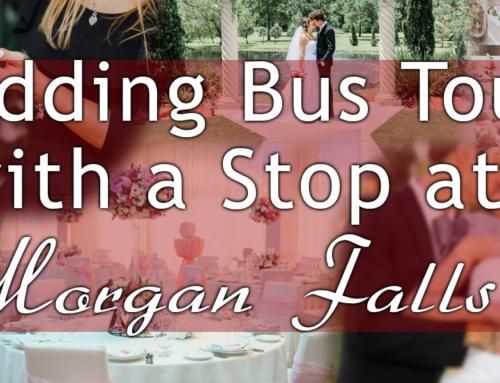 Wedding Bus Tour with a stop at Morgan Falls