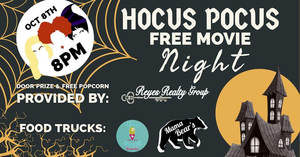 Free Hocus Pocus Movie at Scopel Square